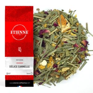 DELICE CANNELLE 100g Infusion, menthe douce & coriandre