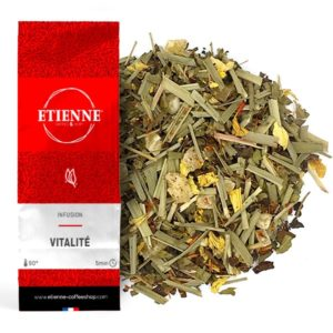 VITALITE 100g Infusion, citronnelle, carthame, gingembre, ananas...
