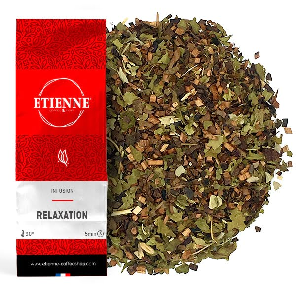 RELAXATION 100g Infusion, mélisse, rooibos, caramel & orange