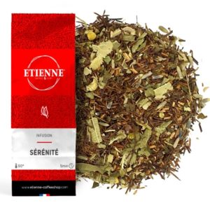 SERENITE 100g Infusion, cacao, miel, camomille, rooibos...