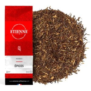 ROOIBOS EPICES 100g Thé rouge sans théine, cannelle, cardamome...