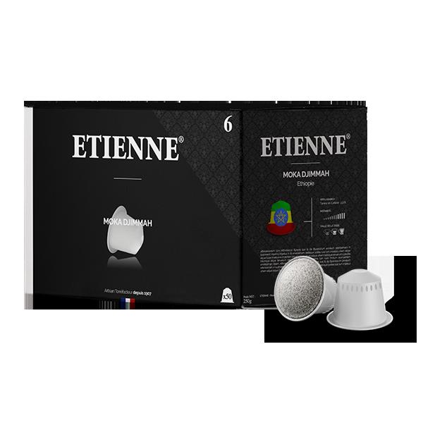 Ethiopie - Moka Djimmah x50 | Capsules compatibles Nesspresso