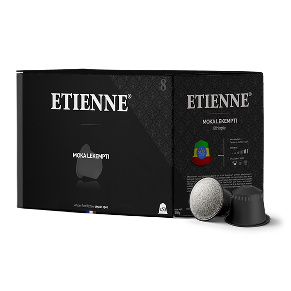 Ethiopie - Moka Lekempti x50 | Capsules compatibles Nesspresso