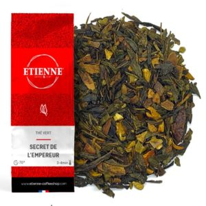 SECRET DE L'EMPEREUR 100g Thé vert orange, cannelle & amandes