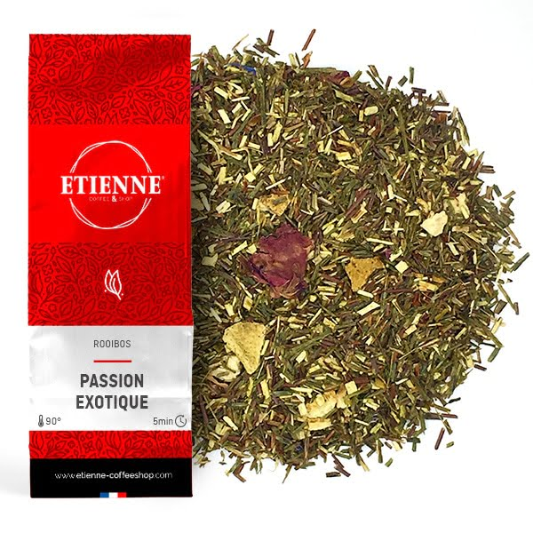 ROOIBOS VERT PASSION EXOTIQUE 100g Fruit de la passion