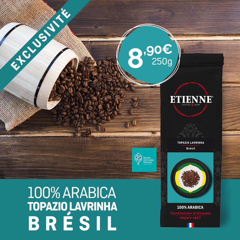 Café du Brésil - Topazio Lavrinha - Torréfaction Artisanale