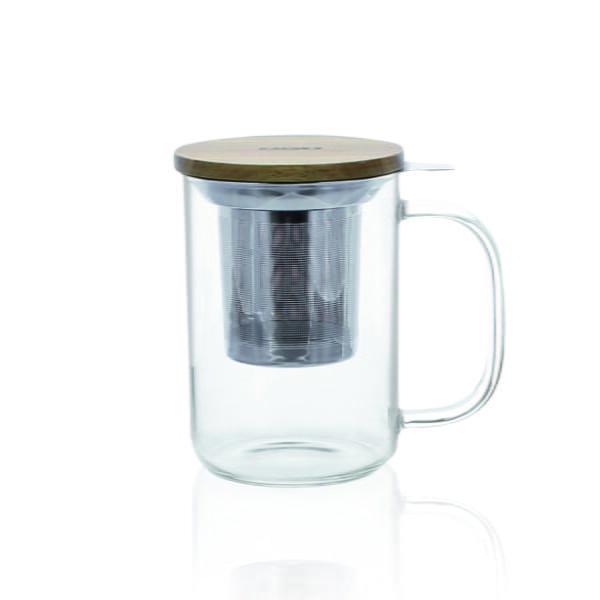 Mug en verre simple paroi OGO Living
