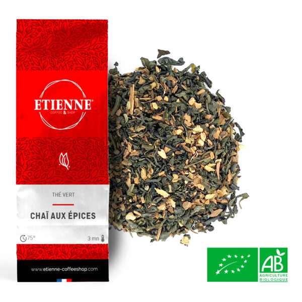 Thé vert Tchaï aux épices Bio
