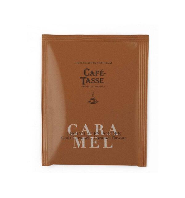 Chocolat en poudre goût Caramel Café-Tasse