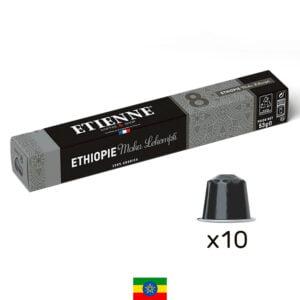 Capsule de café Ethiopie Moka Sidamo ETIENNE Coffee & Shop