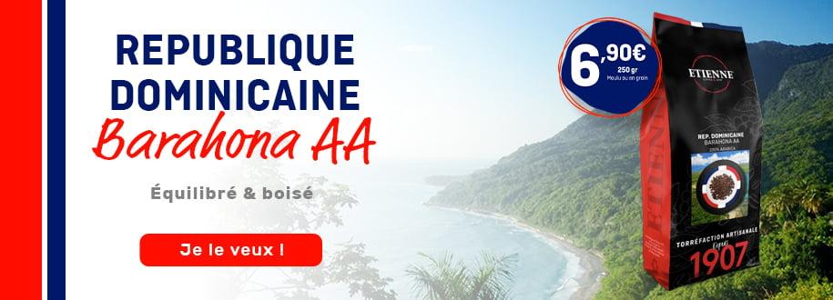 Café de République Dominicaine Brahona AA ETIENNE