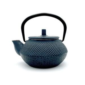 Théière en fonte de Chine Chisai - Bleue - Contenance 0,3L